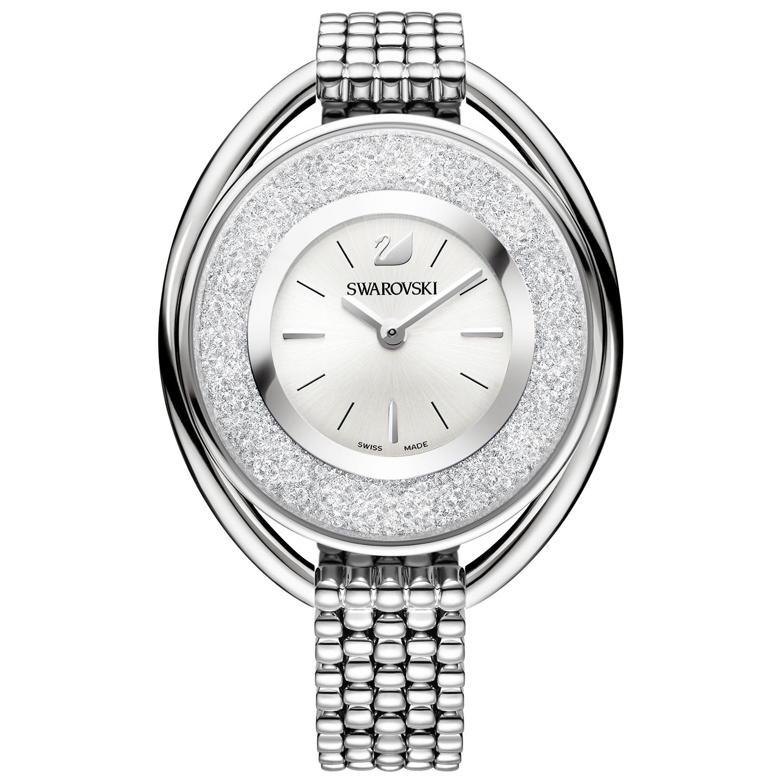 Swarovski Crystalline Oval Silver Bracelet Watch | 5181008