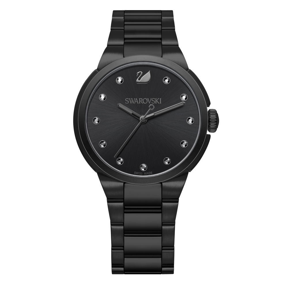 Swarovski City Black Bracelet Watch | 5181626