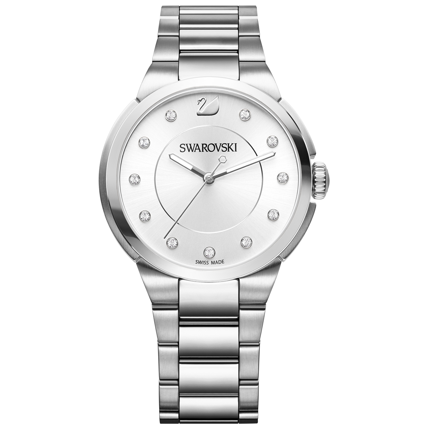 Swarovski City Simple Silver Bracelet Watch | 5181632
