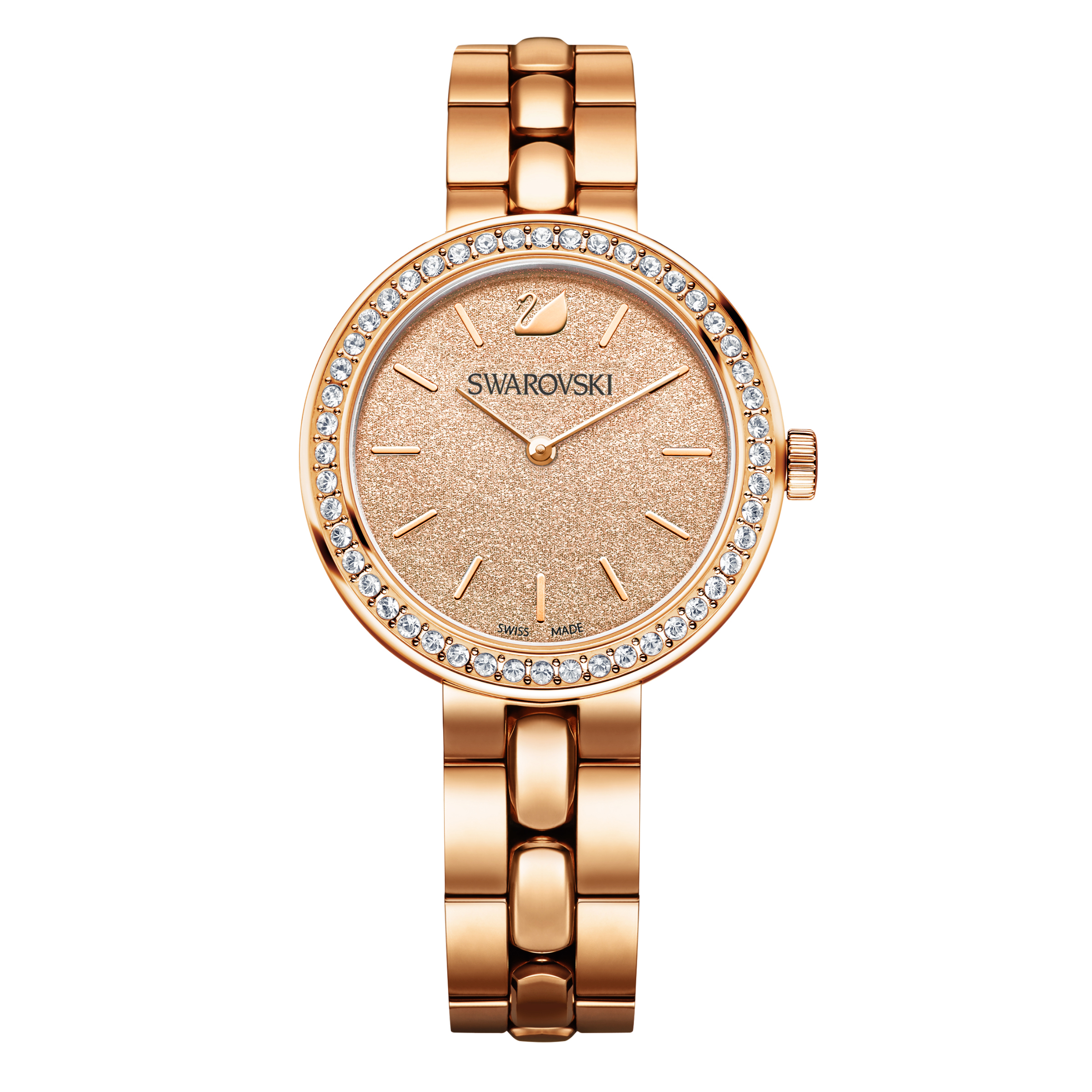 Swarovski Daytime Peach & Rose Gold Bracelet Watch | 5182231