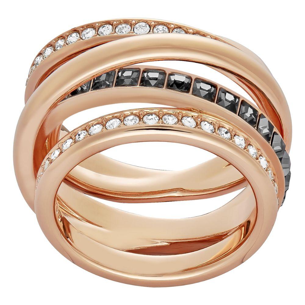 Swarovski Dynamic Rose Gold Ring, Size 52   5184222