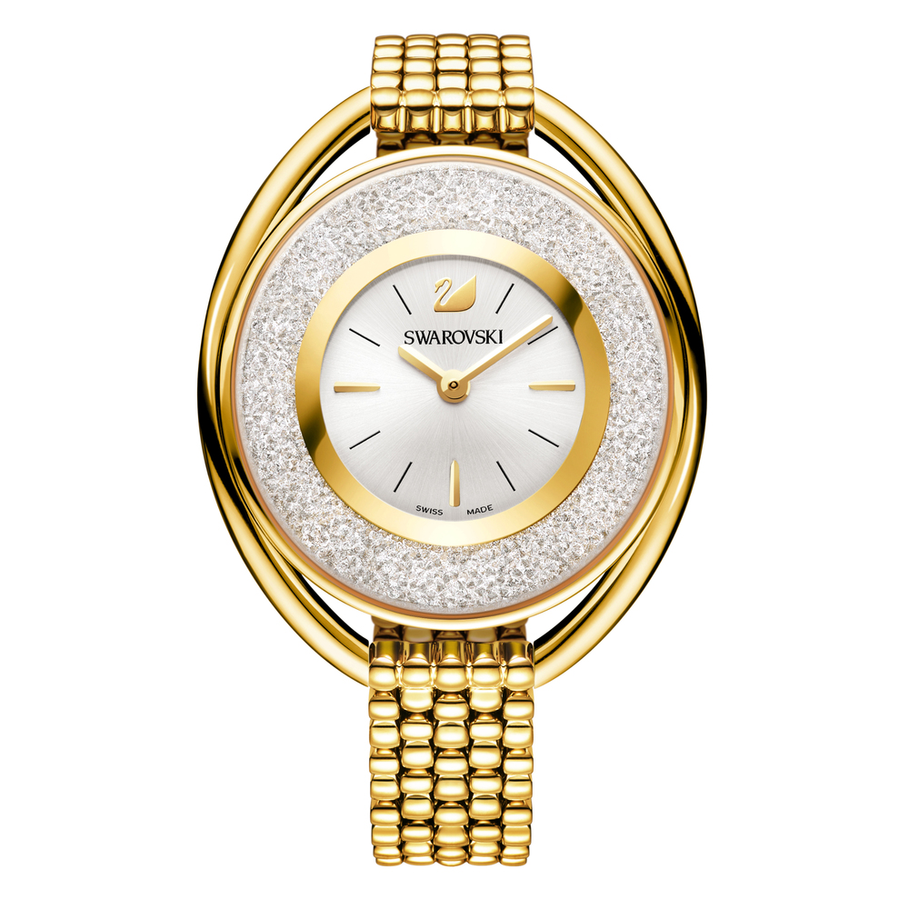 Swarovski Crystalline Oval Gold Bracelet Watch | 5200339