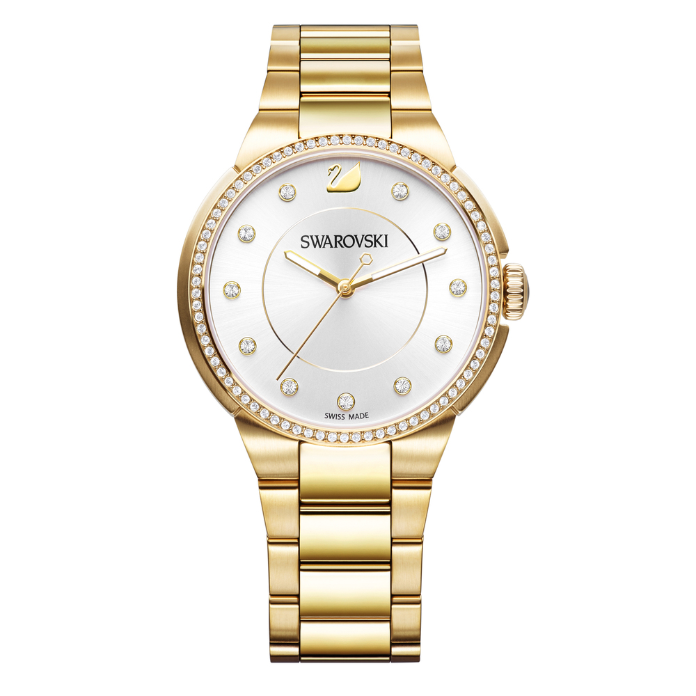 Swarovski City Gold Bracelet Watch | 5213729