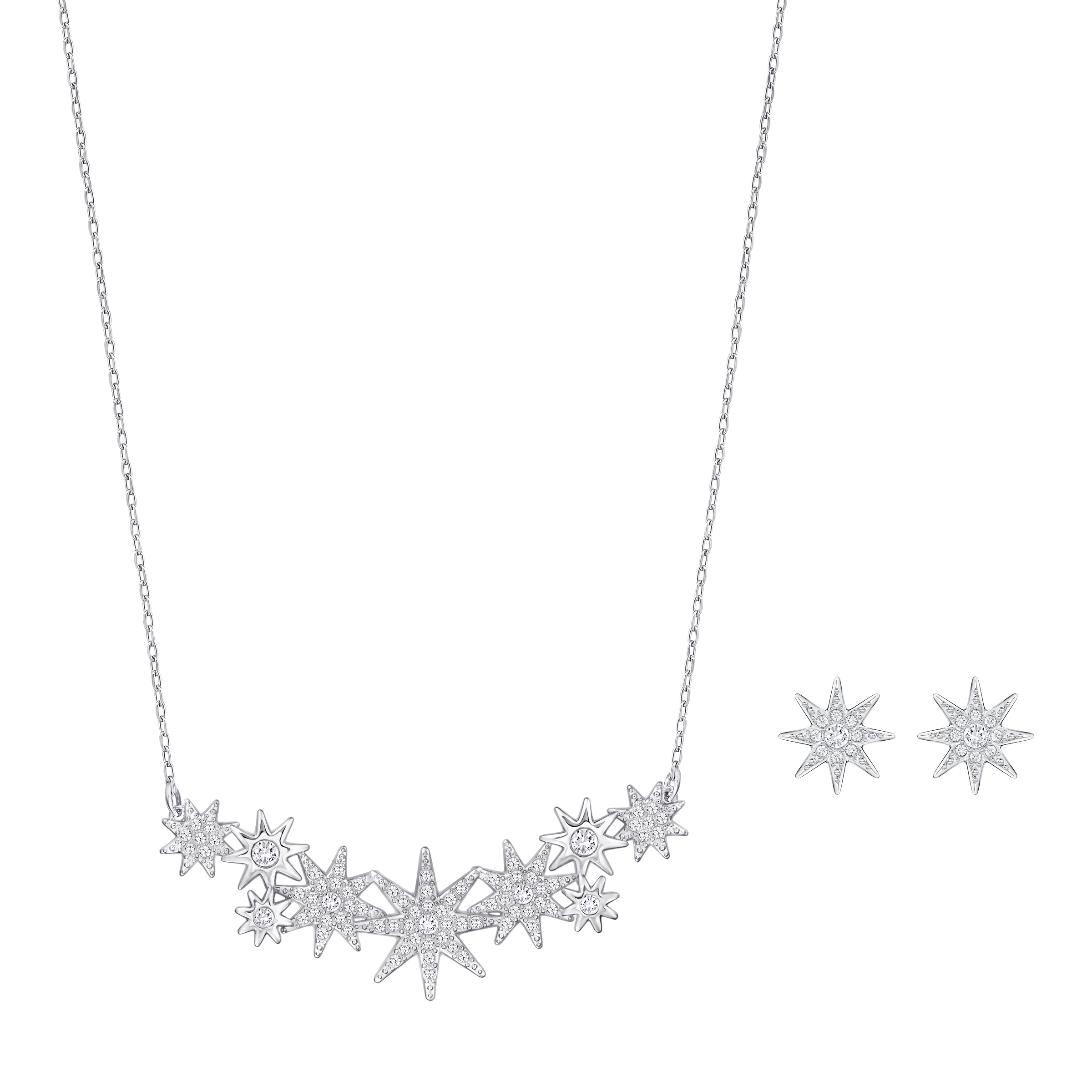 Swarovski Fizzy Necklace & Stud Earrings Set | 5230281