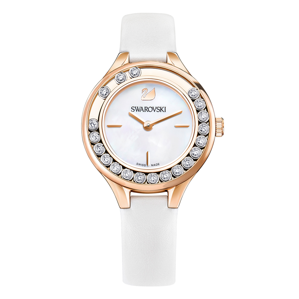 Swarovski Lovely Crystals Mini White Watch | 5242904