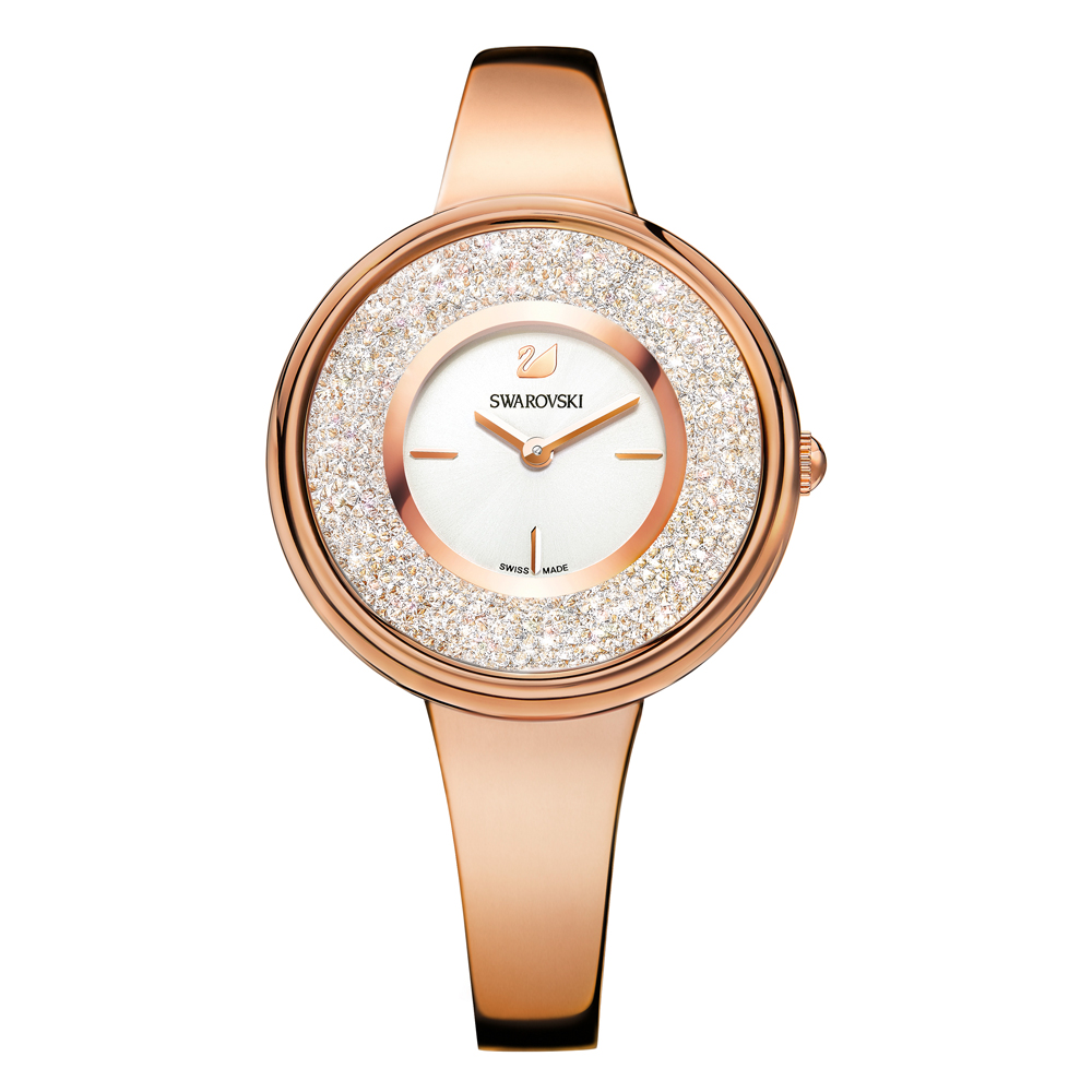 Swarovski Crystalline Pure Rose Gold Watch | 5269250