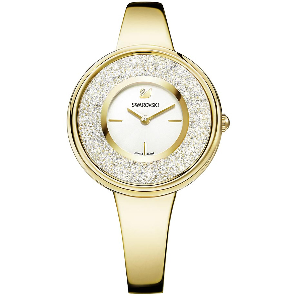 Swarovski Crystalline Pure Gold Tone Watch | 5269253