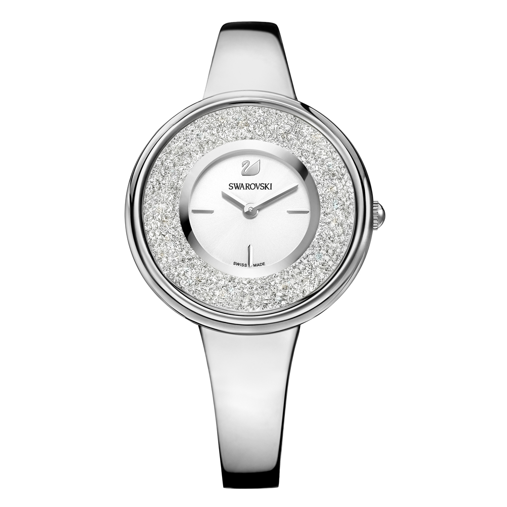 Swarovski Crystalline Pure Silver Watch | 5269256