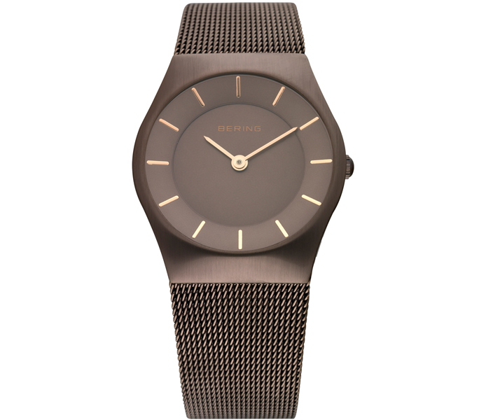 Bering Ladies' Brown Shiny Watch | 11930-105