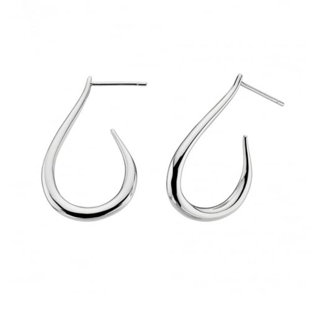 Kit Heath Serene Allure Teardrop Hoop Earrings | 60165HP016