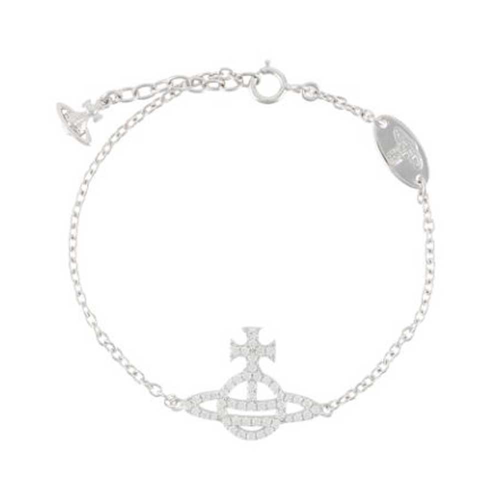 Vivienne Westwood Calliope Silver Bracelet
