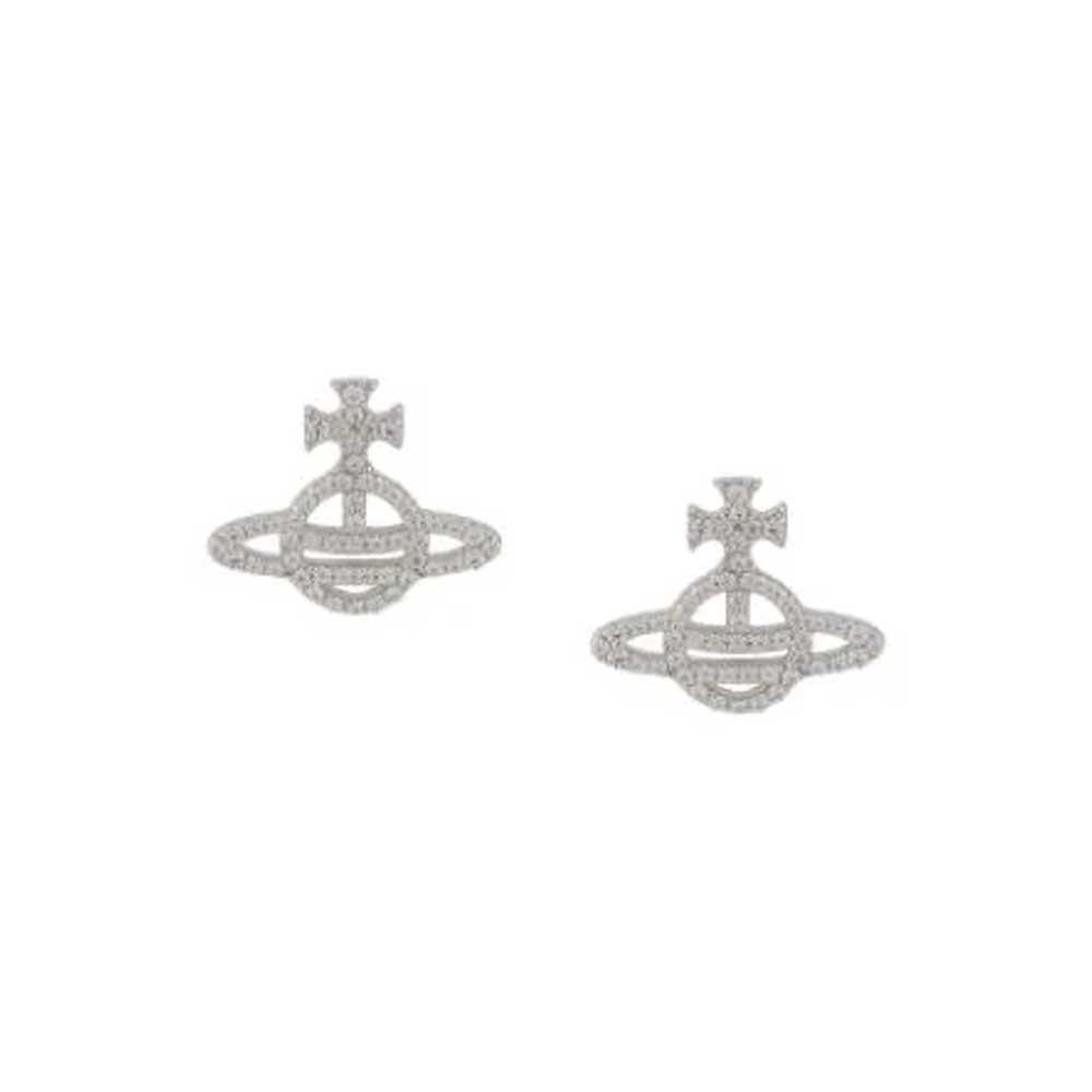 Vivienne Westwood Calliope Silver Earrings