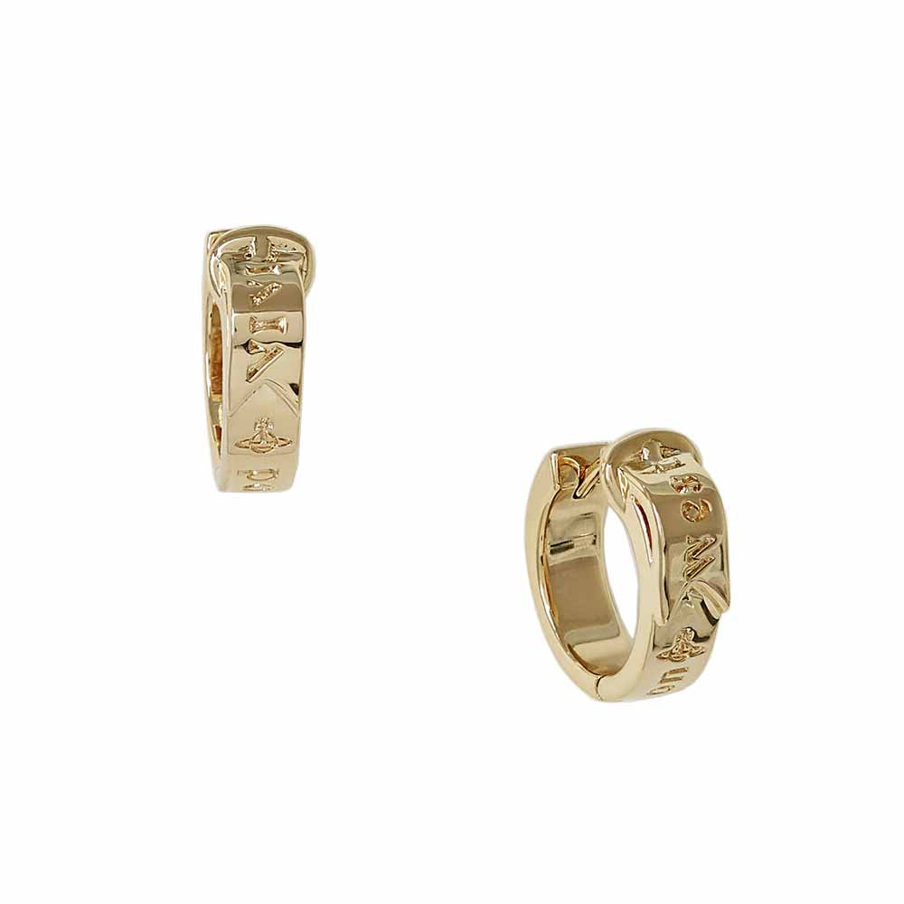 Vivienne Westwood Bobby Earrings, Gold Plated
