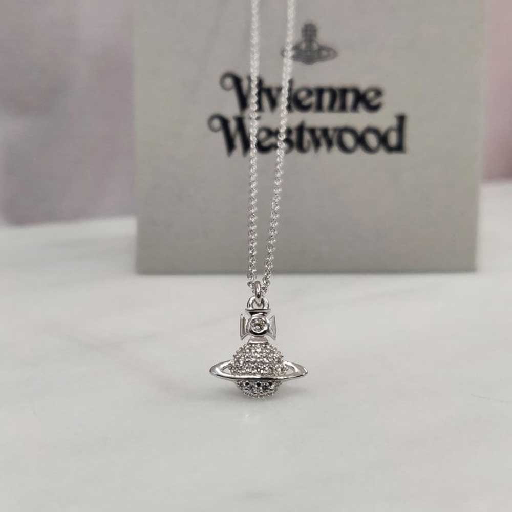 Vivienne Westwood Calliope Silver Pendant