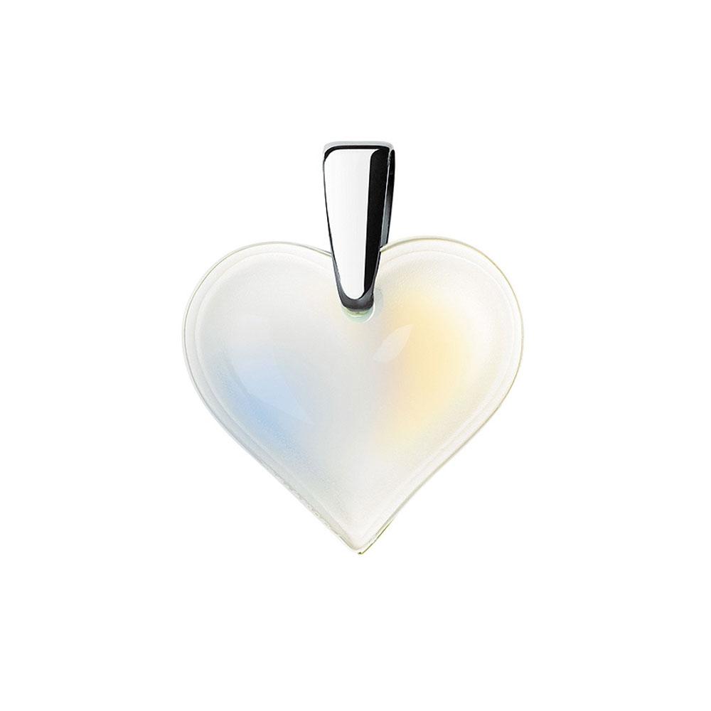 Lalique Amoureuse Beaucoup Opalescent Pendant