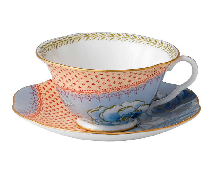Wedgwood Butterfly Bloom Tea Cup & Saucer Blue | 5C107800054