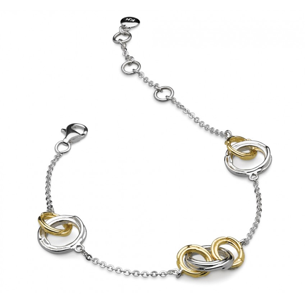 Kit Heath Infinity Coco Link Gold Plated Bracelet | 70204GD020