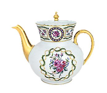 Haviland Louveciennes Large Tea Pot | T110380410313F