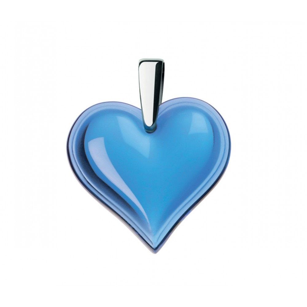 Lalique Amoureuse Beaucoup Sapphire Blue Pendant