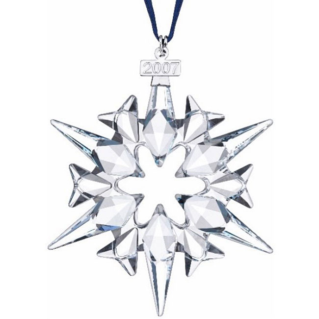 2007 swarovski christmas ornament