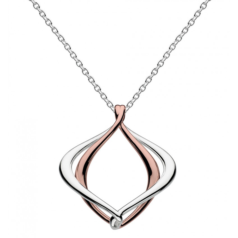 Kit Heath Infinity Alicia Rose Gold 18 Necklace   90019RG016