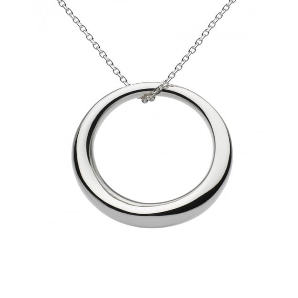 Kit Heath Bevel Curve Ring 30 Necklace | 9177HP018