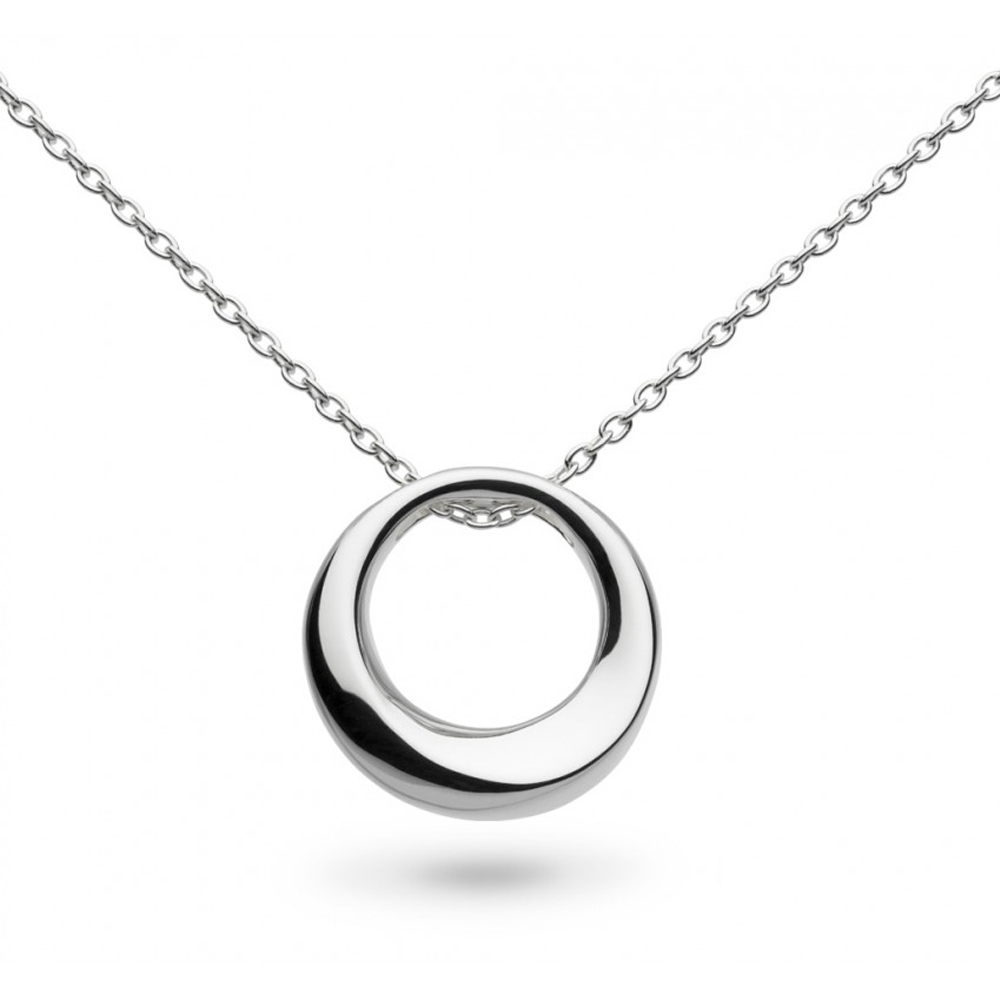 Kit Heath Bevel Curve Small Ring 20 Necklace | 9187HP020