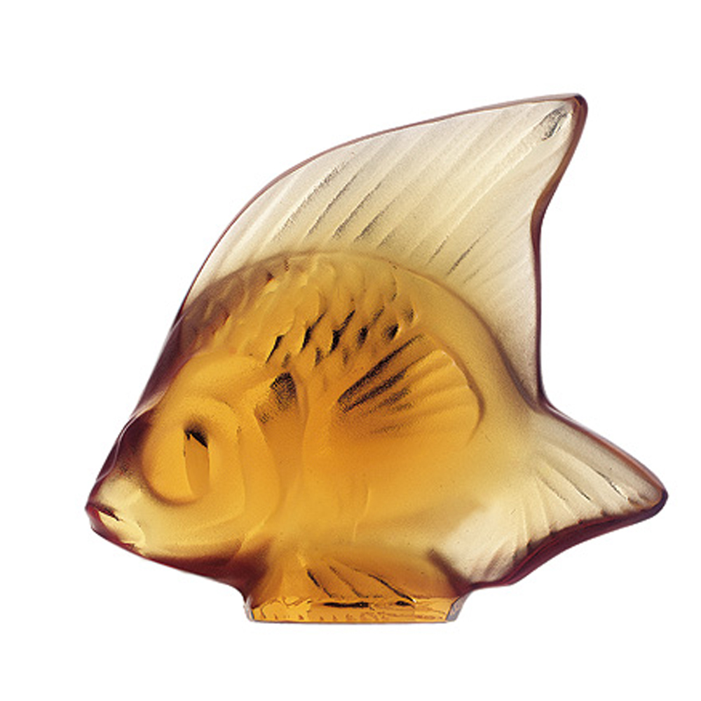 Lalique Amber Fish   3000700