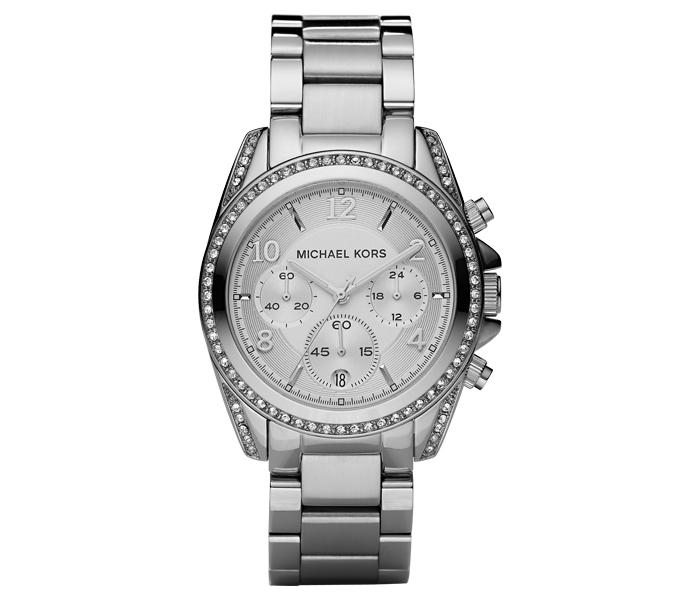 Michael Kors Blair Crystal Pave Bracelet Silver Ladies' Watch   MK5165