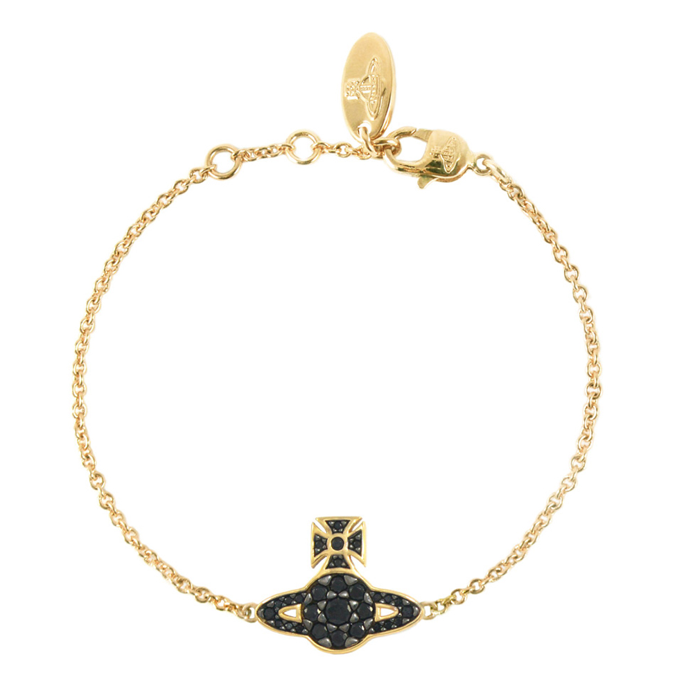 Vivienne Westwood Anatoly Orb Bracelet, Gold Plated