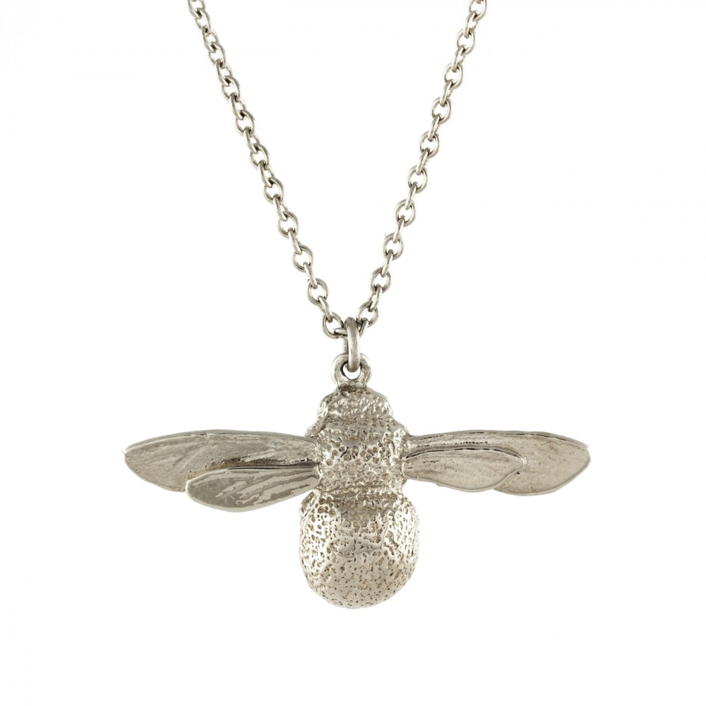 Alex Monroe Baby Bee Silver Necklace | BBN1/S