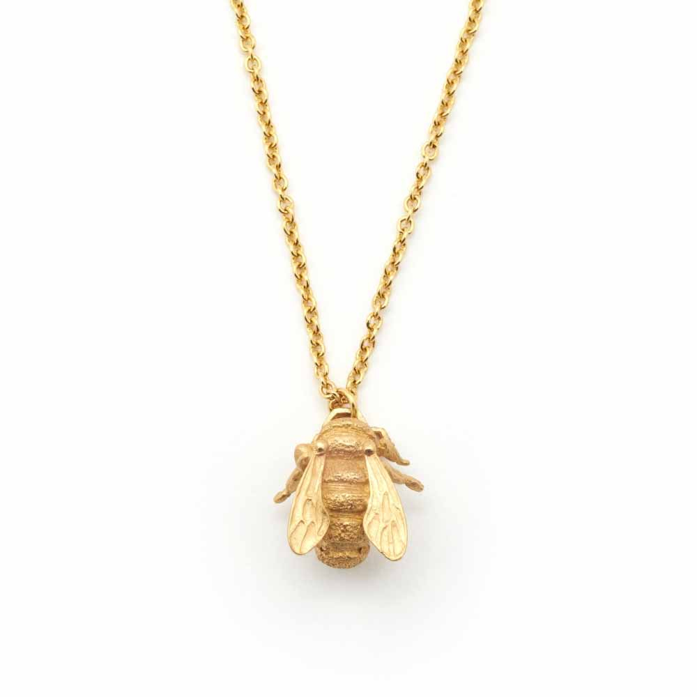 Bill Skinner Bumble Bee Pendant, Gold