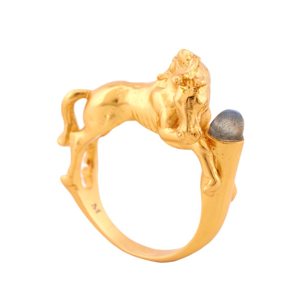 Bill Skinner Wild Horses Ring Size 58 | BSRI025GL