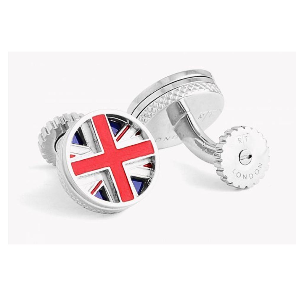 Tateossian Union Jack Rotating Cufflinks | CL6472
