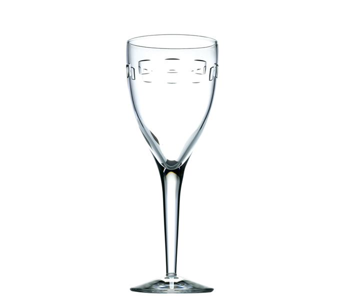 John Rocha  Geo  White Wine Glass (Pair)