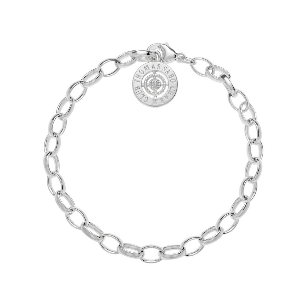 Thomas Sabo Charm Club Charm Bracelet Large | DCX000172514L