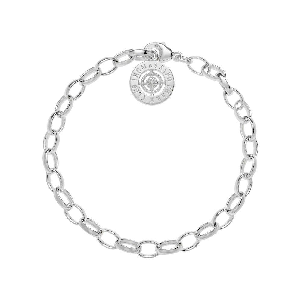 Thomas Sabo Charm Club Silver Small Charm Bracelet | DCX000172514S