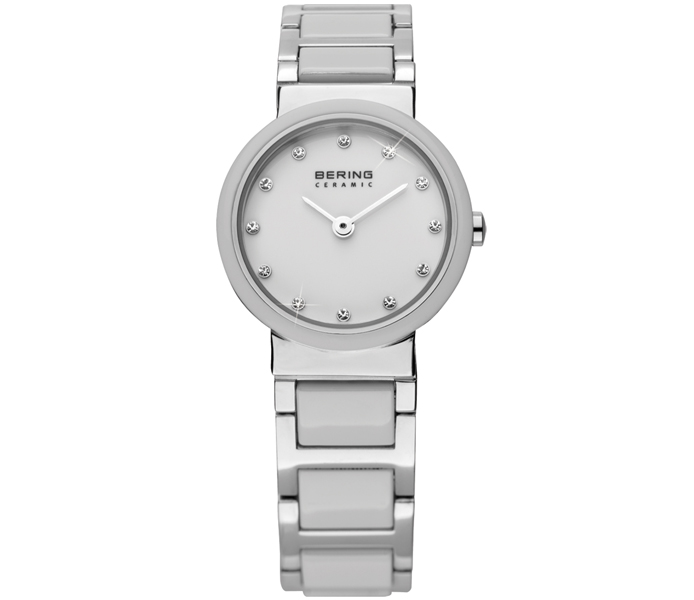 Bering Ladies' Silver Shiny Bezel Watch | 10725-754