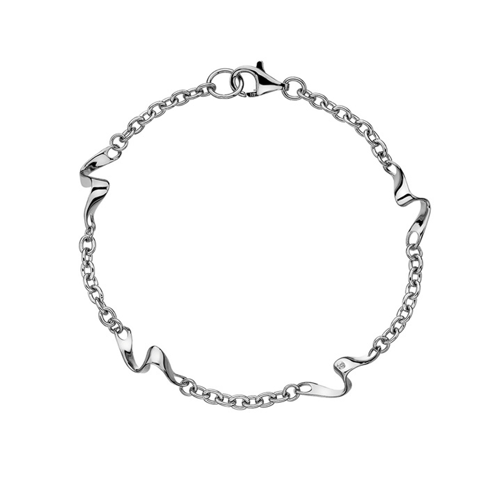Hot Diamonds Pirouette Silver Bracelet | DL294