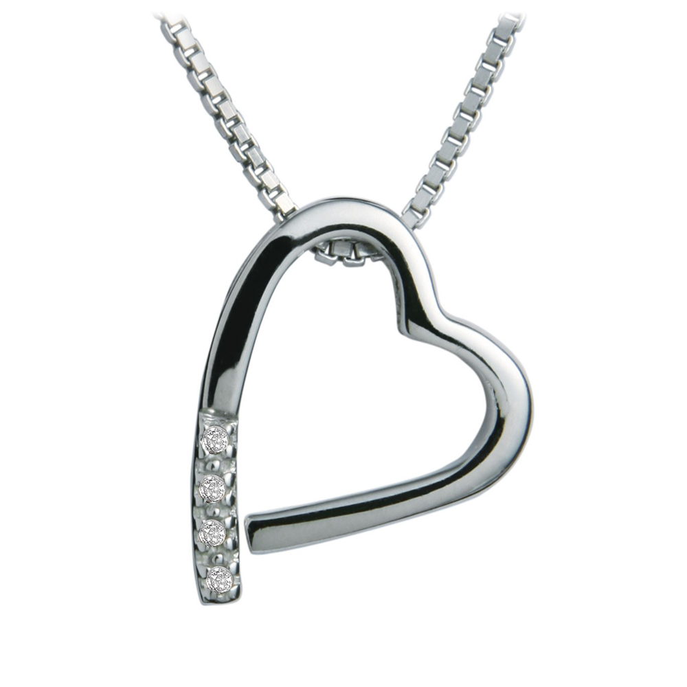 Image of Hot Diamonds Memories Silver Pendant | DP100