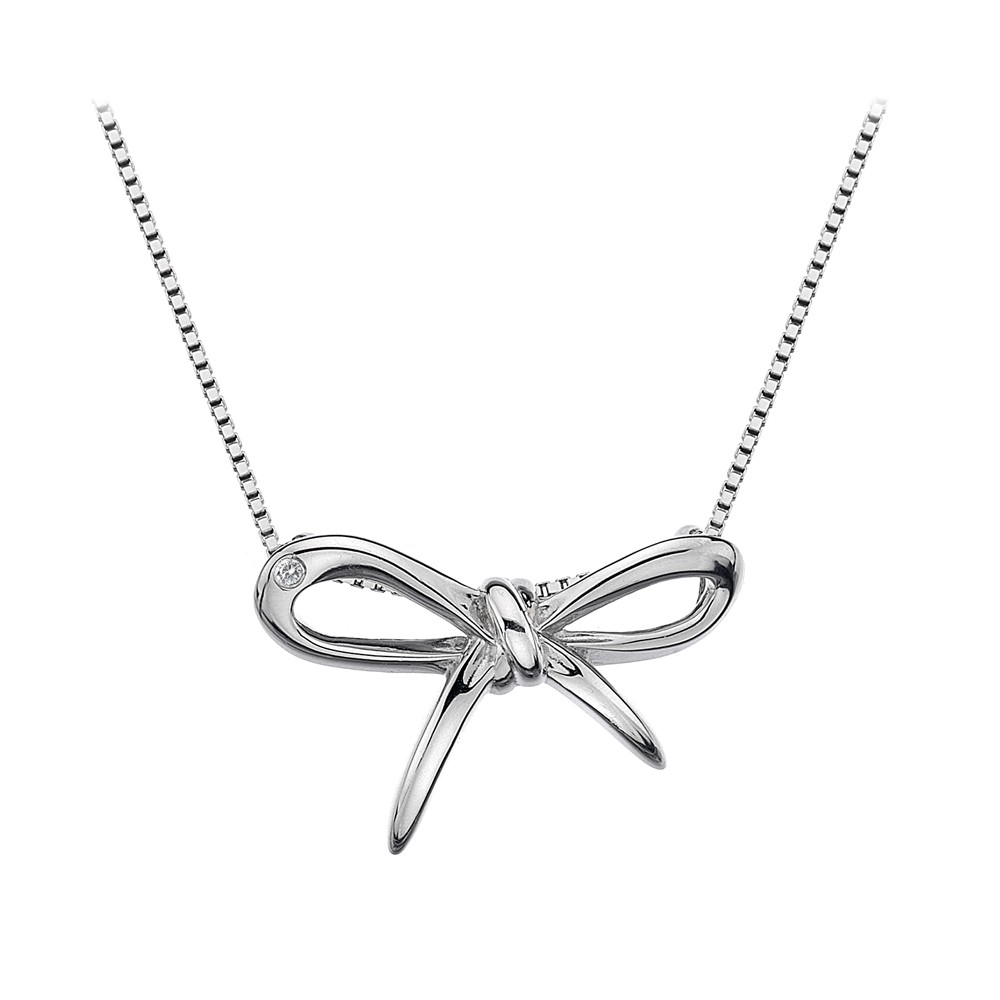 Hot Diamonds Flourish Silver Pendant | DP471
