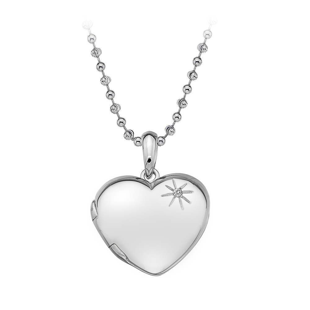 Hot Diamonds Memoirs Heart Locket Pendant | DP495