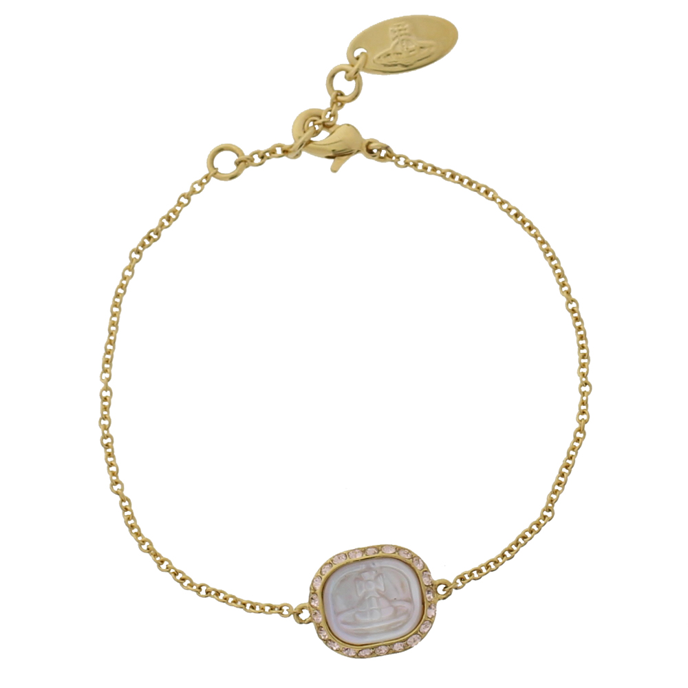 Vivienne Westwood Edith Bracelet, Gold Plated