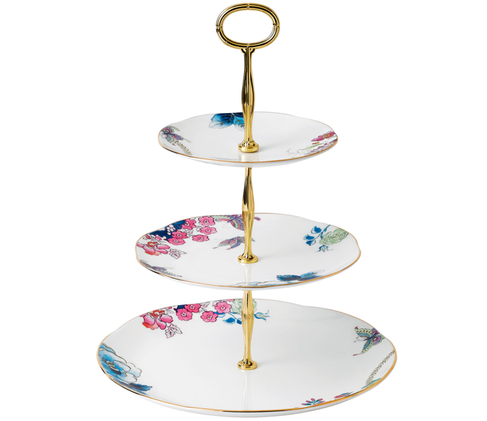 Wedgwood Butterfly Bloom 3 Tier Cake Stand | 5C107805854