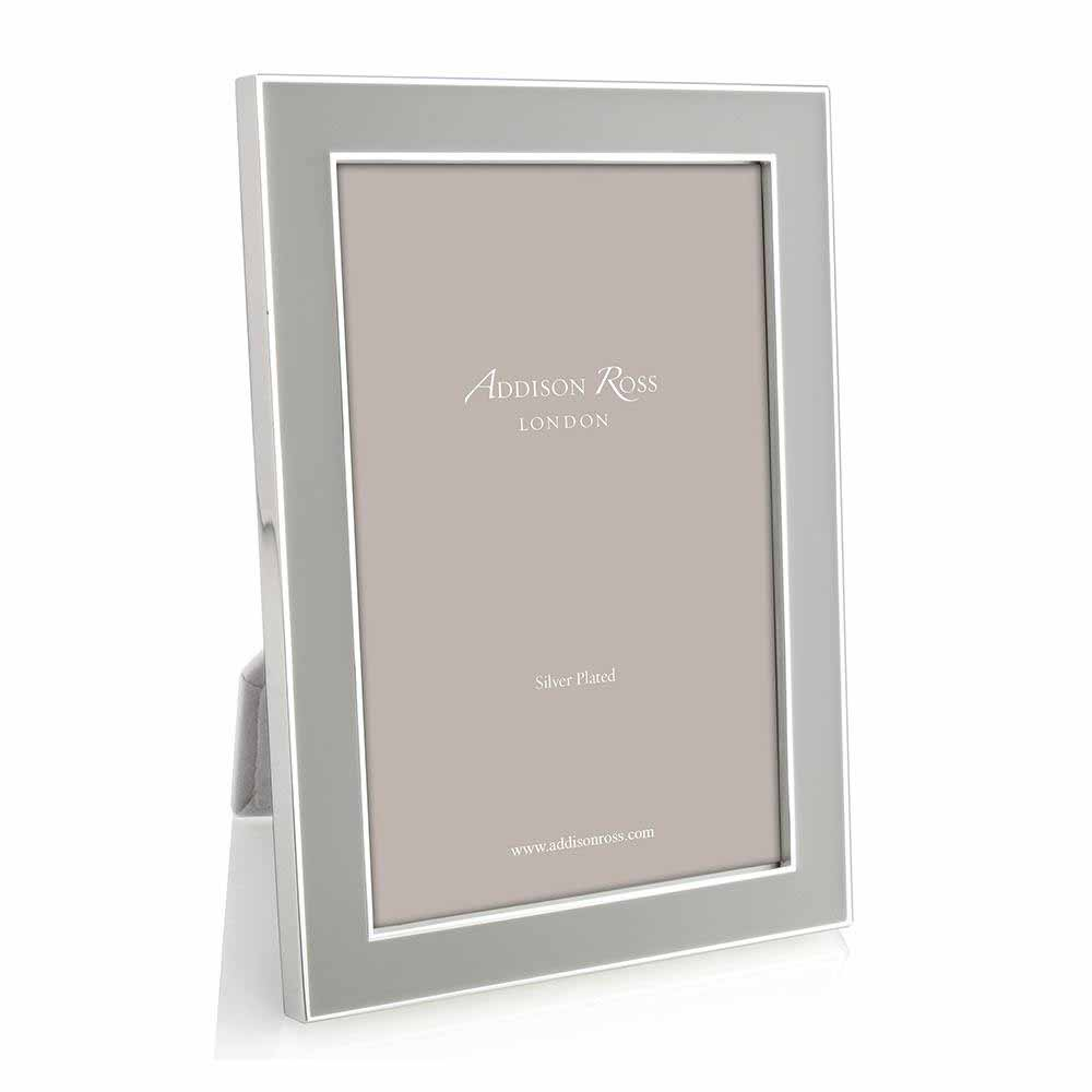 Addison Ross Chiffon Enamel & Silver Frame, 5 x 7   FR0943