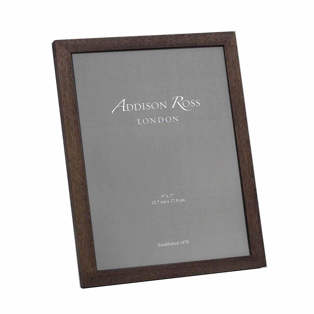 Addison Ross Dark Alder Wood Photo Frame, 5 x 7   FR5261