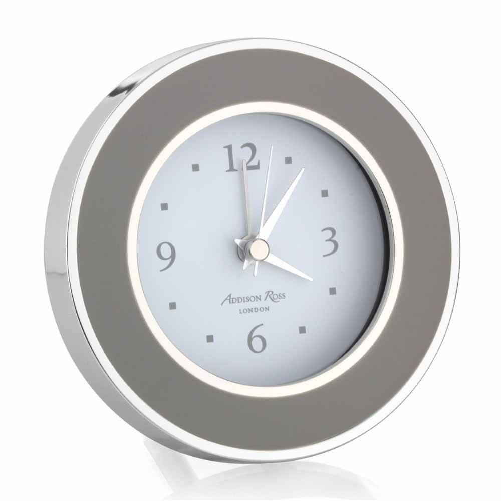 Addison Ross Chiffon & Silver Alarm Clock   FR5501