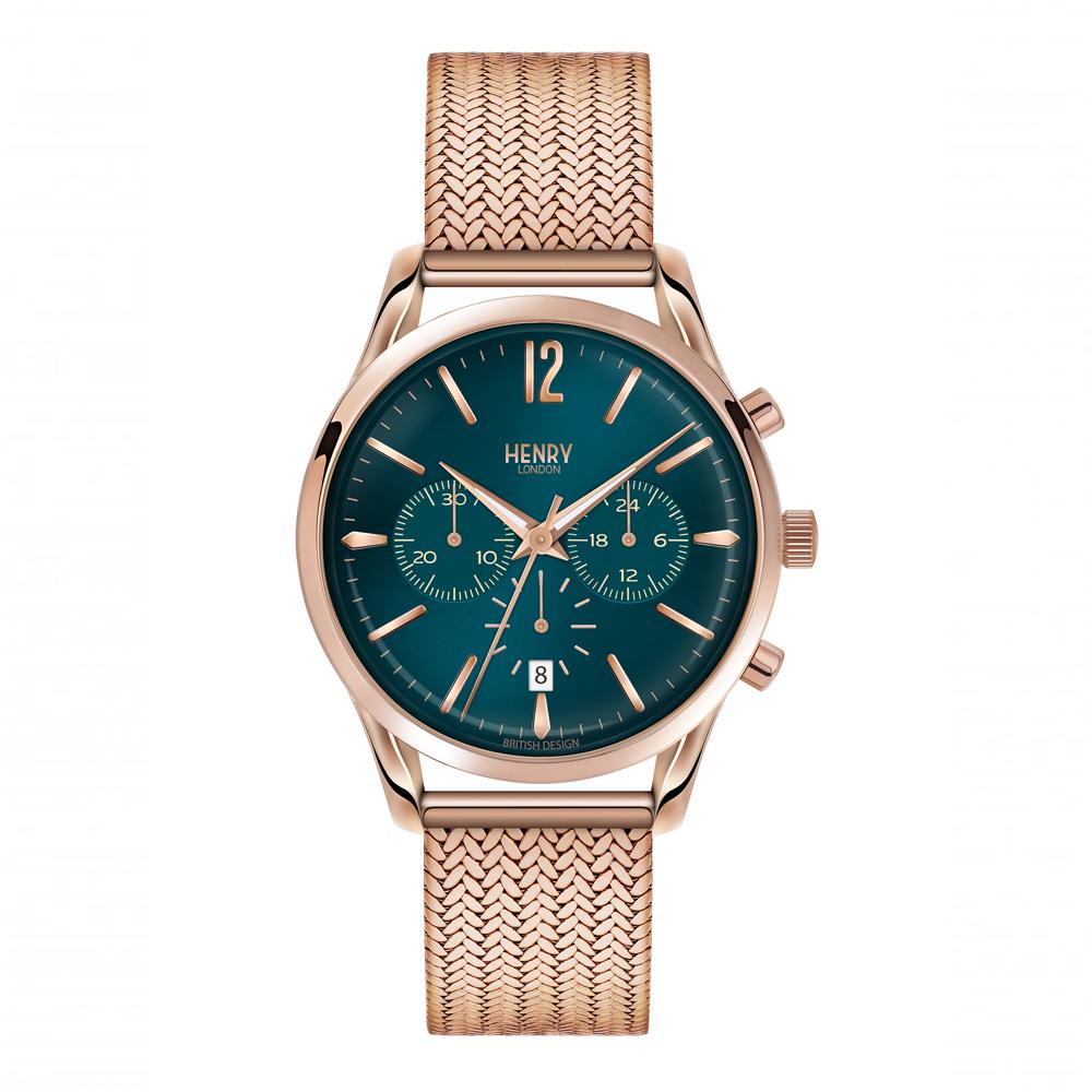 Henry London Unisex Stratford Chronograph Bracelet Watch | HL39-CM-0142