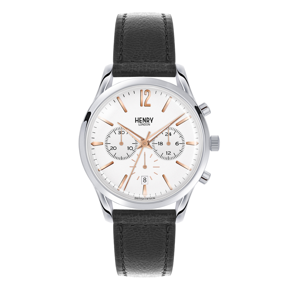 Henry London Unisex Highgate Chronograph Watch | HL39-CS-0009