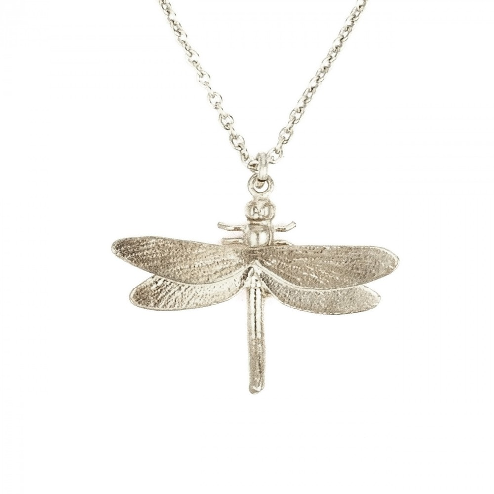 Alex Monroe Dragonfly Silver Necklace | MGN10/S